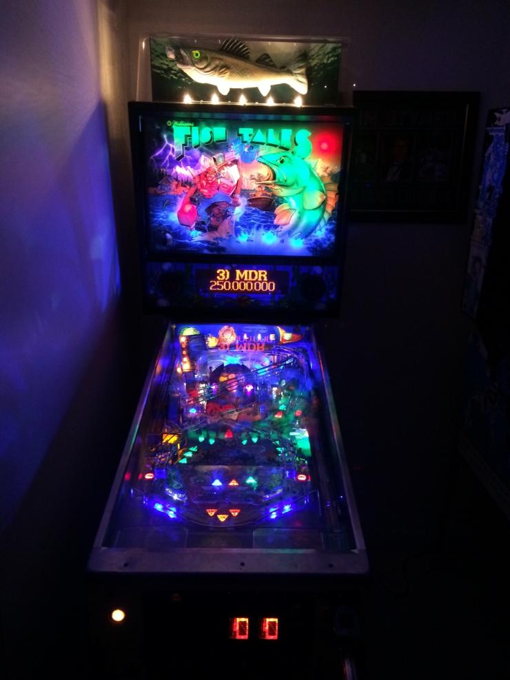 ugly pinball machine